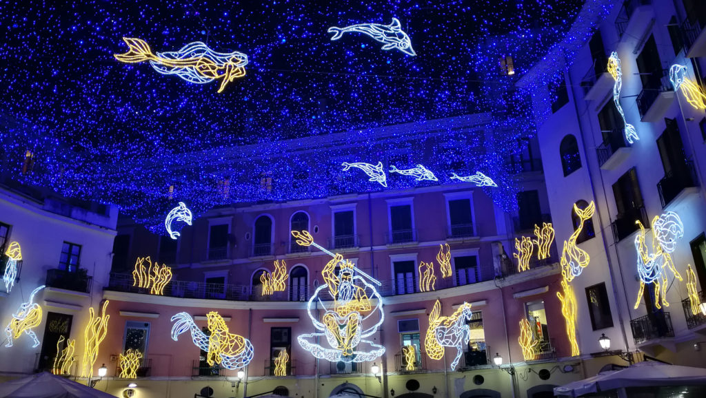 Cosa visitare a Salerno luci d'artista