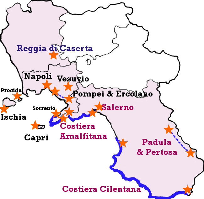 Cosa visitare in Campania